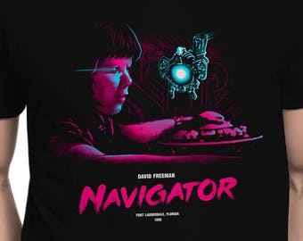 Navigator T-SHIRT / Compliance / Eighties Scifi / 1986 / Unisex