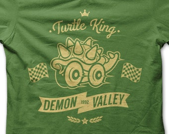 Demon Valley T-SHIRT / Retro Gaming / Unisex / Tank Top