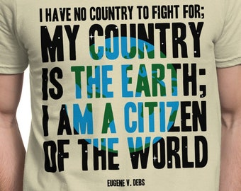 I Am A Citizen Of The World Quote
