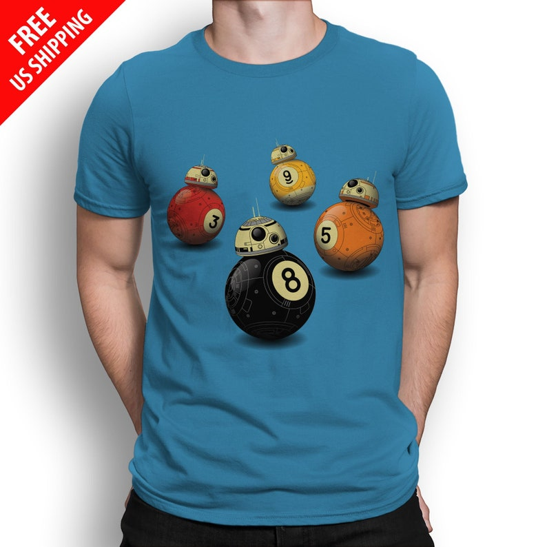BB8 T-SHIRT / 9-Ball Pool / Funny / Unisex image 0