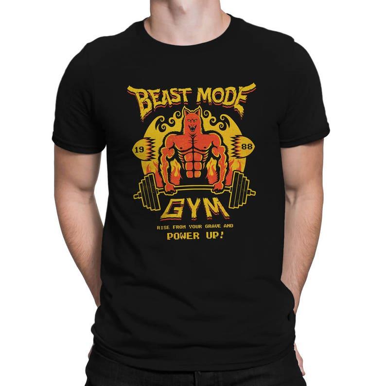 Altered Beast T-SHIRT / Beast Mode Gym / Retro Gaming / Unisex image 0