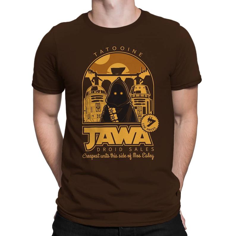 Jawa Droid Sales T-SHIRT / Scifi / Nerd / Unisex image 0