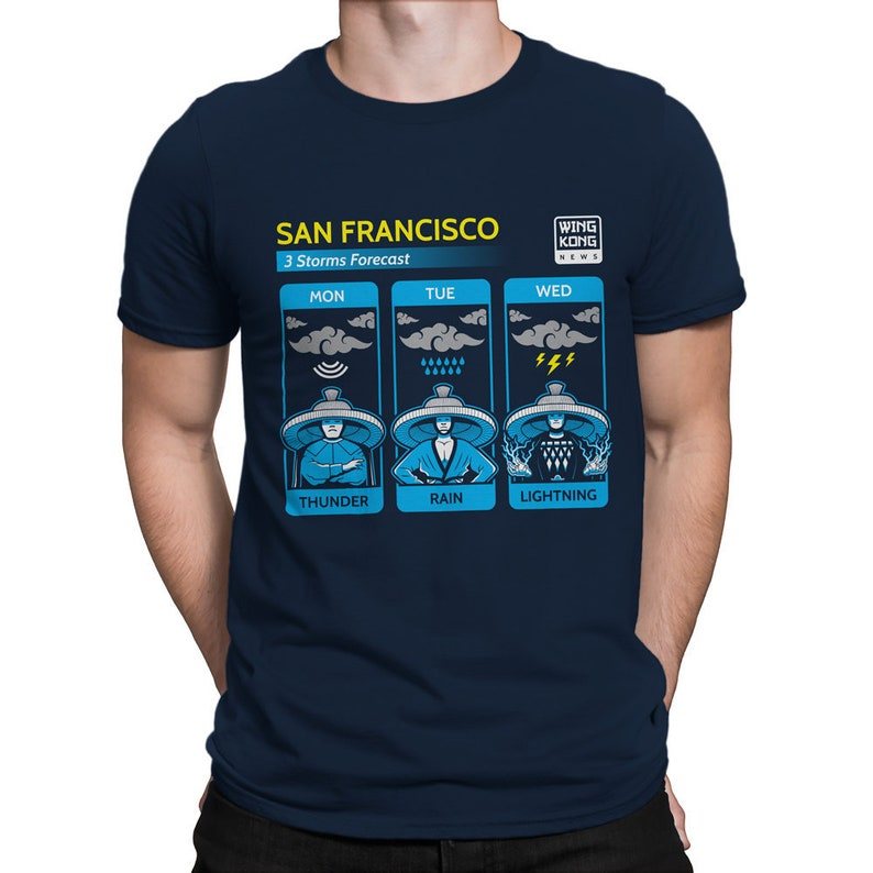 Big Trouble in Little China T-SHIRT / Three Storms / Weather image 0