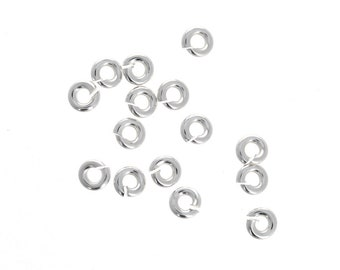 Jewelry Findings & Components Beads & Jewelry Making 1*5mm Lot Of 1000pcs Strong 316l Stainless Steel Jump Ring Suit For Diy Necklace