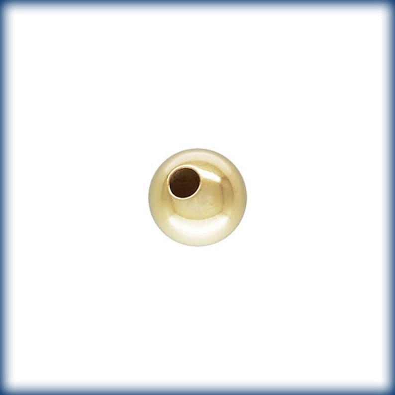 Gold filled Beads 14k 1420 round Beads Seamless Gold fill Beads Round gold Beads 8MM 8mm Gold filled Round Beads 50PCS