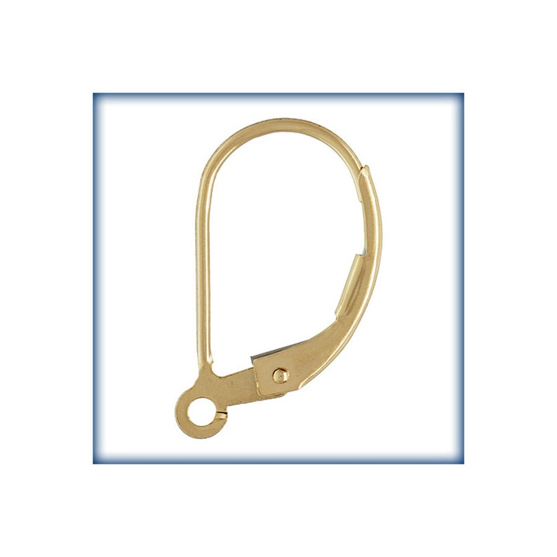 a26133850cf4d 14KT Gold Filled Leverbacks, Lever back Findings, 5 Pairs, Gold Earring  Findings, Leverback hooks, Earring Hooks, Wholesale Findings