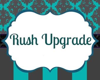 Upgrade to Rush Processing