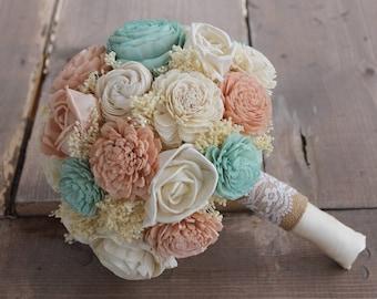 Mint bouquet | Etsy