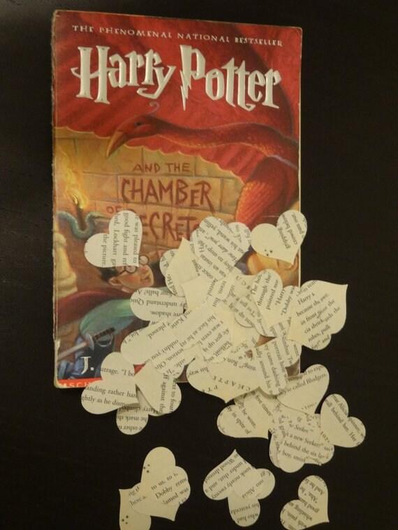 Livres De Poche De Harry Potter Par J K Rowling Livre Confetti Ideal Pour Mariage Decoration Douche Nuptiale Partie De Bebe