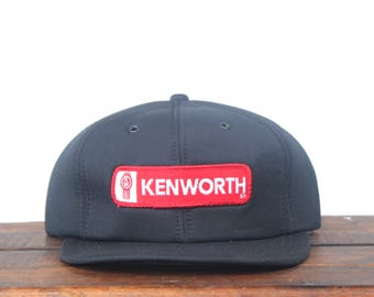 316a5544752 Trucker Hat Vintage Snapback Hat Baseball Cap New Deadstock Kenworth Semi  Truck 18 Wheeler Big Rig Tractor Trailer Patch pxq