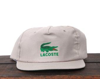 f8762825523 Vintage Bootleg Lacoste Alligator Clothing Brand Trucker Hat Snapback  Baseball Cap