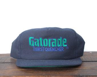 2fcf29beb14 Vintage 80 s Gatorade Thirst Quencher Sports Drink Trucker Hat Snapback  Baseball Cap Made In USA