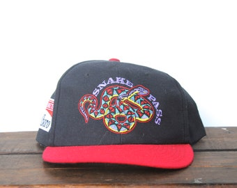 3bc82adfcbd Vintage 90 s Marlboro Adventure Team Snake Pass Cigarettes Tobacco Trucker  Hat Strapback Baseball Cap