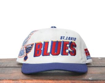 5f41c02e946 ... reduced vintage 90s sports specialties shadow st louis blues hockey nhl  snapback hat baseball cap d2684