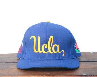 Vintage 90 s UCLA Bruins 1994 Rose Bowl NCAA College Football Snapback Hat  Baseball Cap Made In USA b1924c0a1246