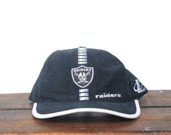 Vintage 90 s Logo Athletic Los Angeles Oakland Raiders Football NFL  Strapback Hat Baseball Cap ad27d88ac