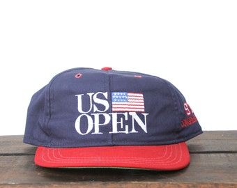 c81601d434c Vintage US Open Golf Tournament  97 Congressional Course Green Country Club  Strapback Trucker Hat Baseball Cap