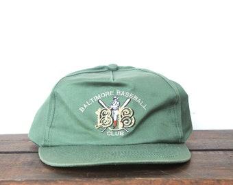 79ff7a19151 Vintage BBC Baltimore Baseball Club Charm City Maryland Trucker Hat Snapback  Baseball Cap
