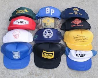 eece36ee8 Vintage trucker hat | Etsy