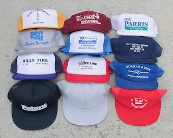 0d7ad46c488 Vintage trucker hat | Etsy