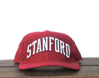 new product 93199 c8564 ... usa rare vintage starter arch stanford university california snapback  hat baseball cap 1c41f f66df