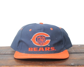 38d034367a096 ... wholesale vintage 90s distressed chicago bears football nfl hat snapback  baseball cap e0750 f03b3
