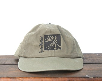 eb216145466 Vintage 90 s Hat Cap Unstructured Strapback Hat Baseball Cap Gander  Mountain Hunting Camping Gear Store
