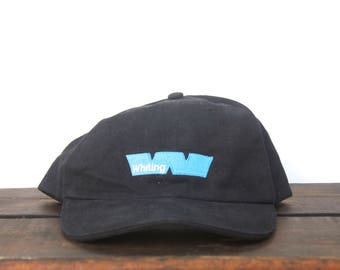 89a67915729c2 Vintage Baseball Cap Unstructured Strapback Hat 90 s Hat Cap Minimal  Whiting W