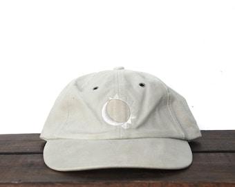 Vintage 90 s Marlboro Sun Moon Adventure Gear Cigarettes Tobacco  Unstructured Strapback Hat Baseball Cap 40a5b036457d