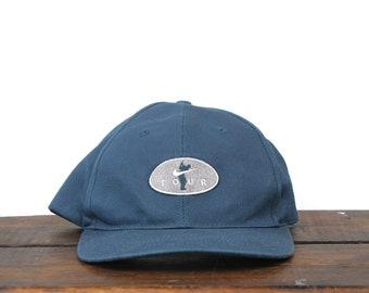 7a9379b7bab Vintage 90 s Nike Golf Tour Athletic Apparel Swoosh Strapback Hat Baseball  Cap