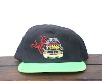dc85e1156f9 Vintage Trucker Hat Snapback Hat Baseball Cap Mello Yello Racing Neon Brim  Nascar Lemon Lime Soda Pop Kyle Petty Made In USA