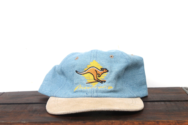 Vintage 90 s Denim Jean Australia Kangaroo Down Under  2d771c240261