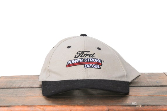 Vintage 90 s Hat Cap Strapback Hat Baseball Cap Ford Power  3806a26cca50