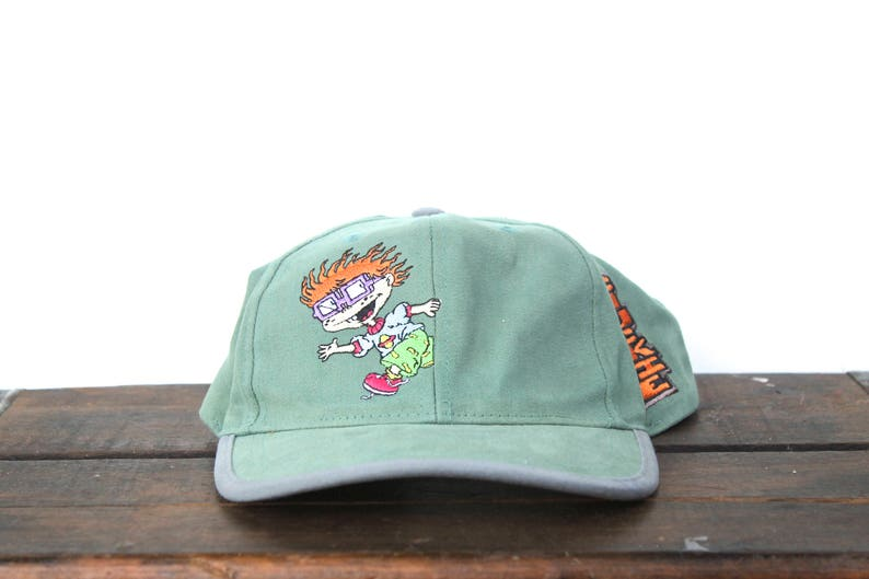 Vintage 90 s Hat Cap Rugrats Chuckie Nickelodeon Cartoon  95cbcbe05374