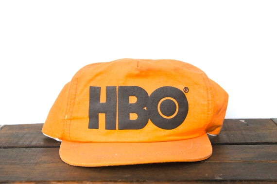 Trucker Hat Vintage Snapback Hat Baseball Cap Neon Orange HBO  2ac3d7780ceb