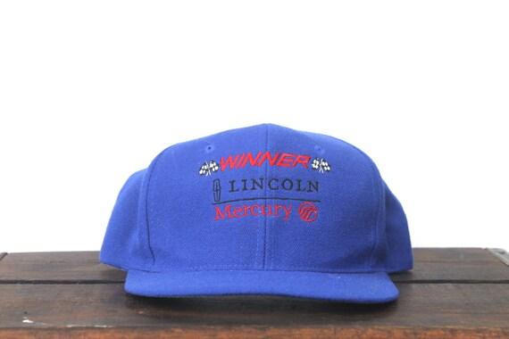 Trucker Hat Vintage Snapback Hat Baseball Cap Winner Lincoln  e81ffd87eaa
