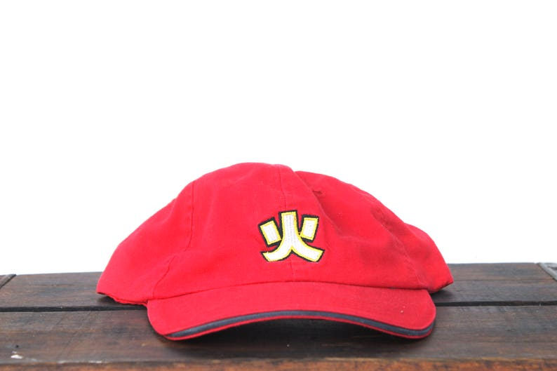27aa5f6ef6572 Vintage 90 s Hat Cap Unstructured Strapback Hat Baseball