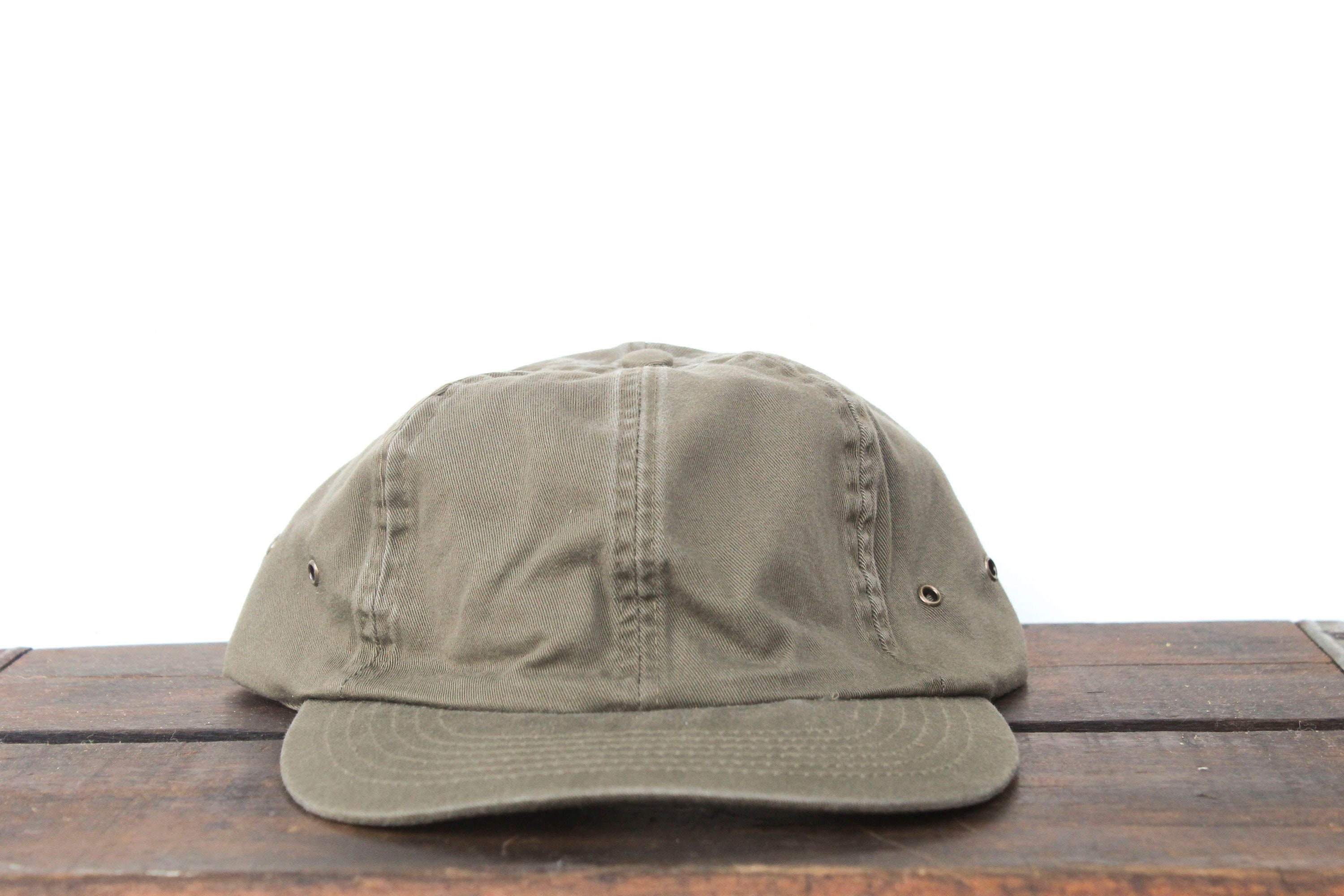 Vintage 90 s Blank Olive Green Mac Demarco Style  79a9ab06f4a