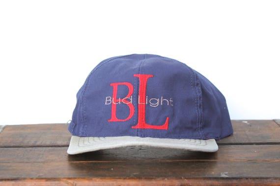 afb056e2452 Trucker Hat Vintage Snapback Hat Baseball Cap BL Bud Light