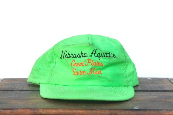 Vintage Trucker Hat Snapback Hat Baseball Cap Neon
