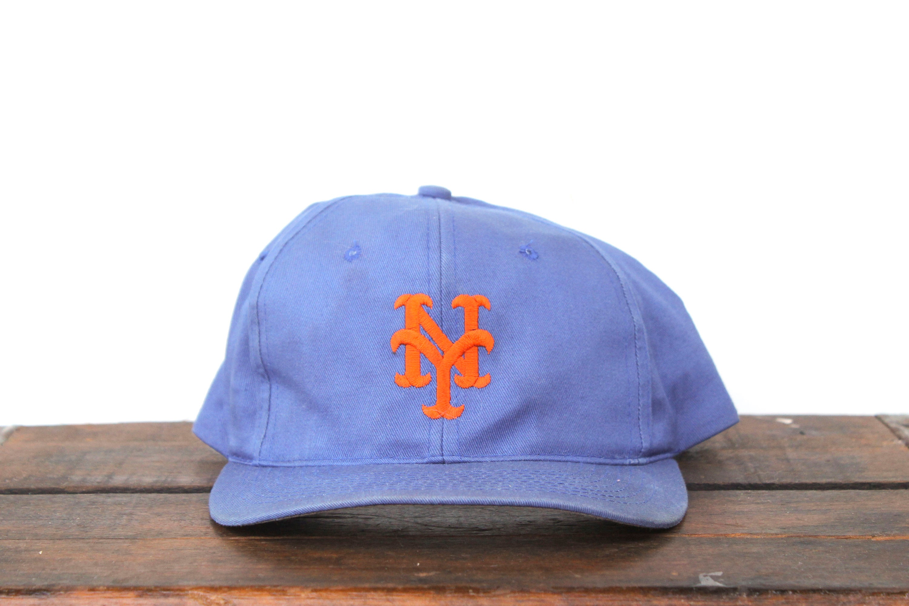 buy online 9a9c7 0ba7b ... coupon for vintage 90s new york mets mlb snapback hat baseball cap etsy  a6a4d b597e