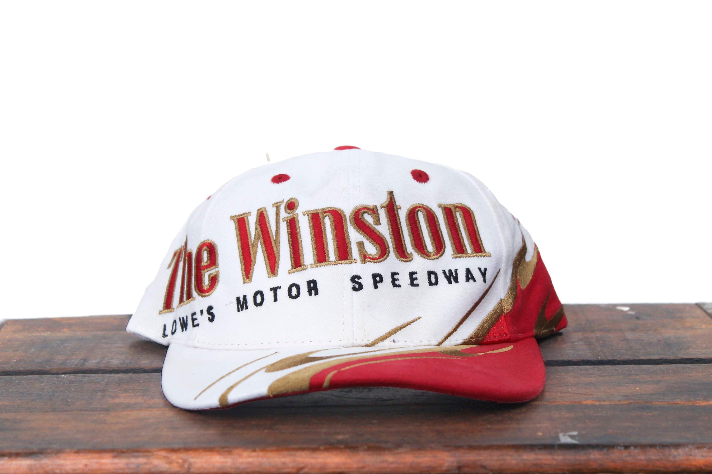 Vintage Trucker Hat Snapback Hat Baseball Cap The Winston  c3dce63bf07