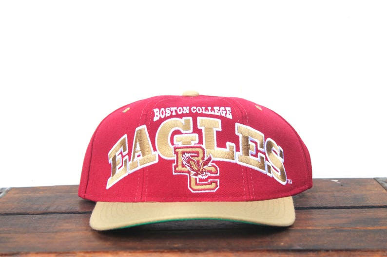 low priced 5cfdc b148e Vintage BC Boston College Eagles Starter Tri Power NCAA   Etsy