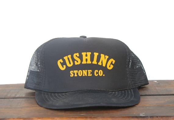 Vintage Minimal Trucker Hat Snapback Hat Baseball Cap Cushing  a3df95dad0d