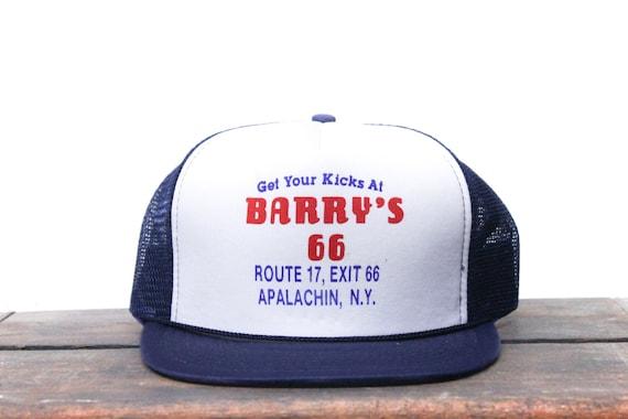 04246d7da1d Vintage Trucker Hat Snapback Hat Baseball Cap Get Your Kicks