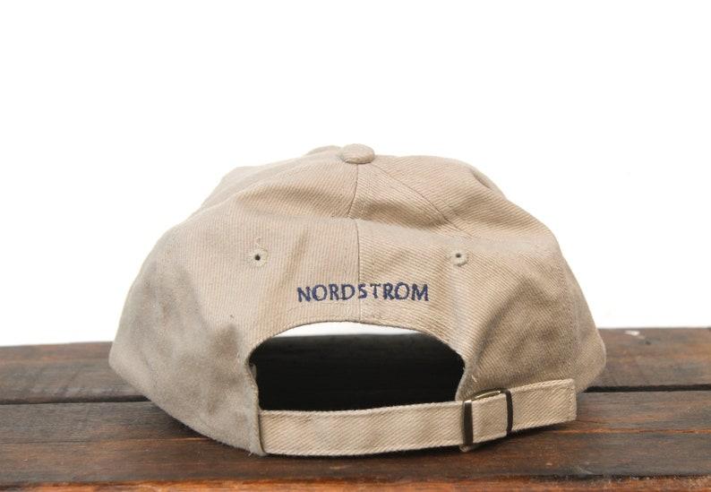 c099cc57bce5a Vintage 90 s Minimal BITS Nordstrom Unstructured Strapback