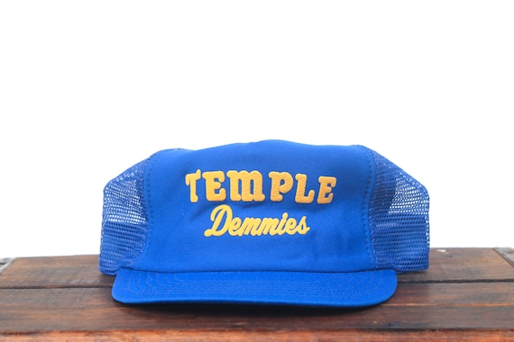 meet ad8eb 684ac coupon code for vintage trucker hat snapback hat baseball cap temple  demmies etsy 5419f faa8a