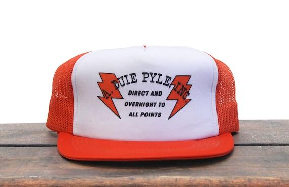 Vintage Trucker Hat Snapback Hat Baseball Cap Falcon Transport Co Trucking Hauling Bird Of Prey Colorblock