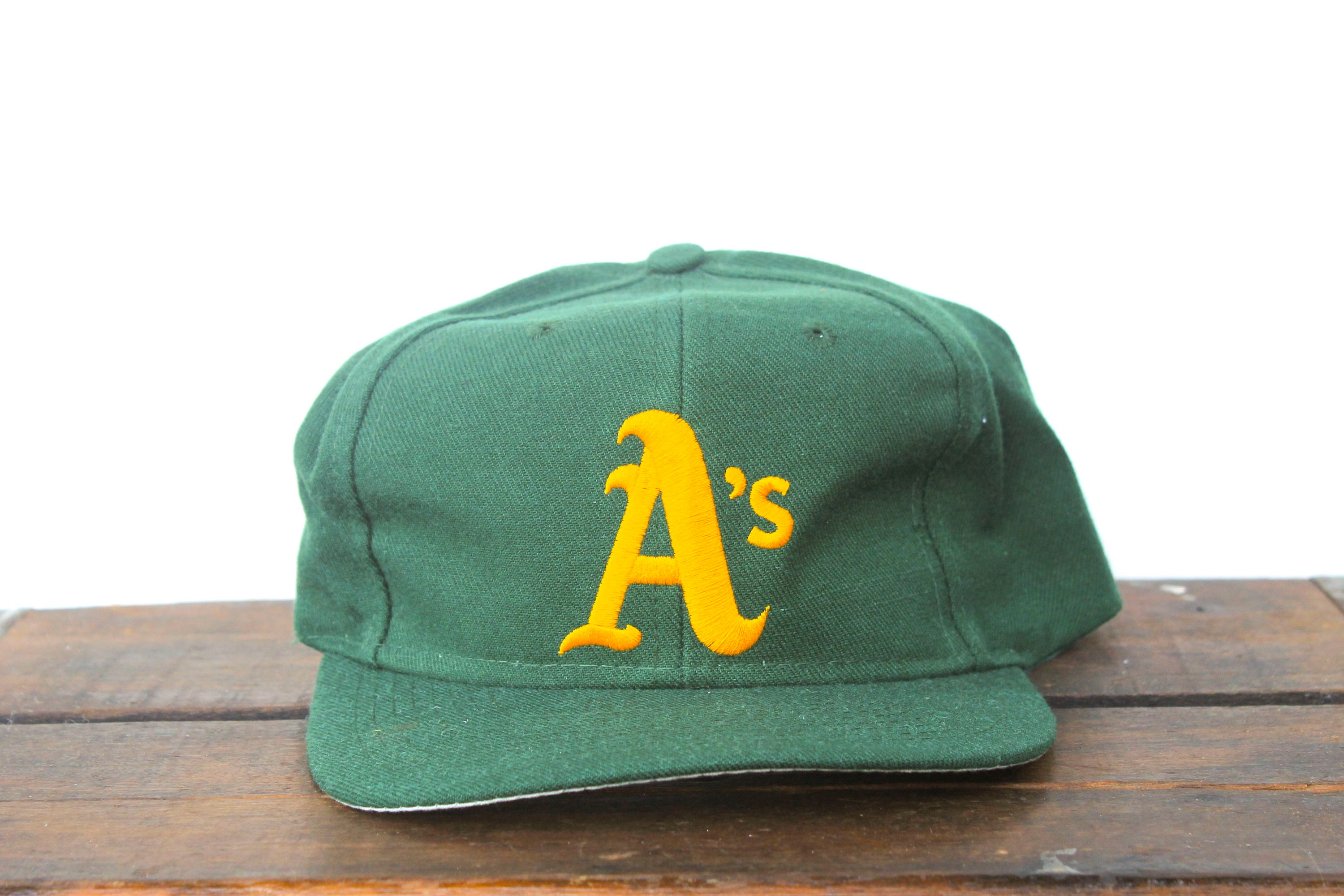 Vintage 90 s Oakland A s Athletics Forest Green MLB  594f835563c
