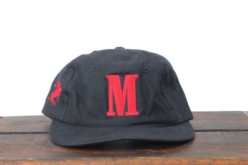 00738762bda Vintage 90 s Hat Cap Marlboro M Cigarettes Tobacco Rodeo